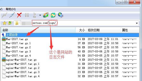 1下载网站日志
